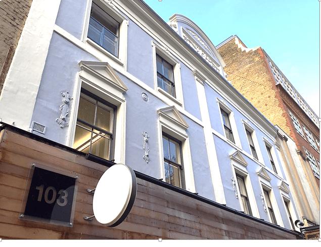 103 Charing Cross Road, Soho