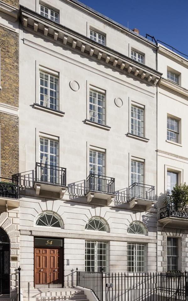 54 Portland Place, Marylebone