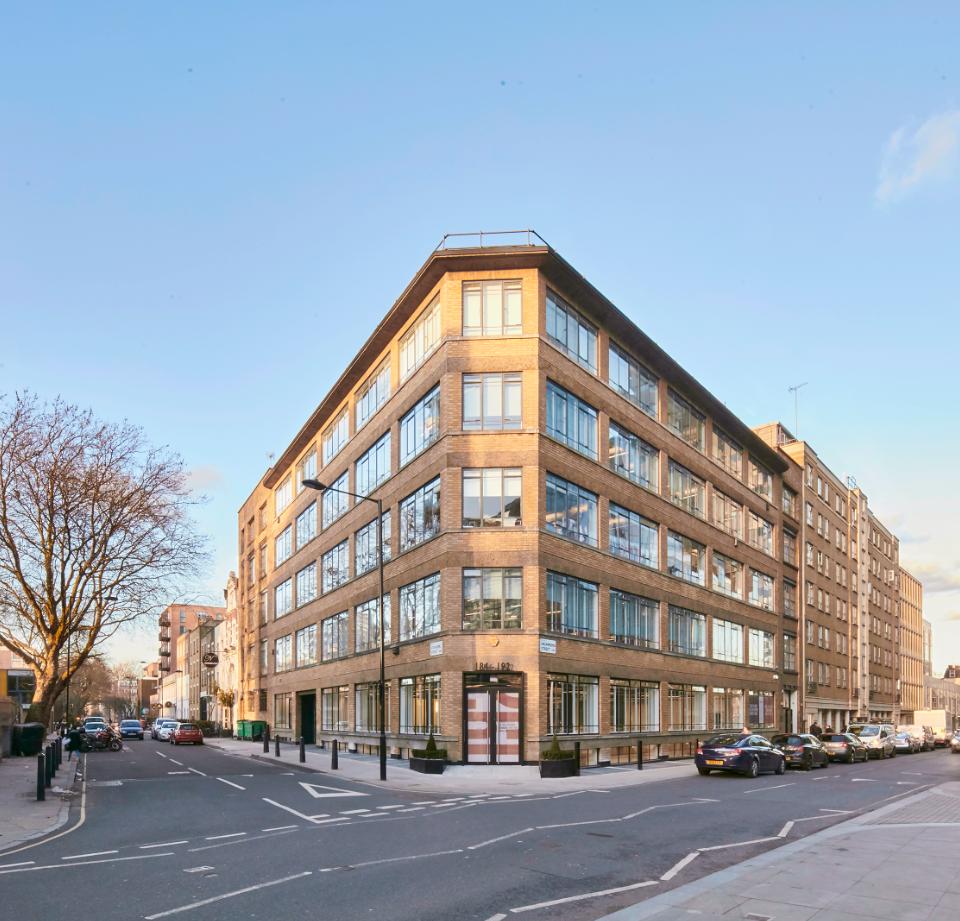 184-192 Drummond Street, Euston